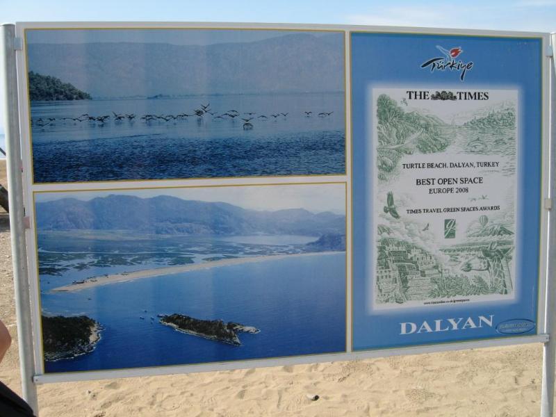 Plage de Dalyan, IZTUZU (plage de la tortue)