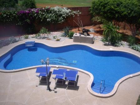 Pool from the 1th Floor