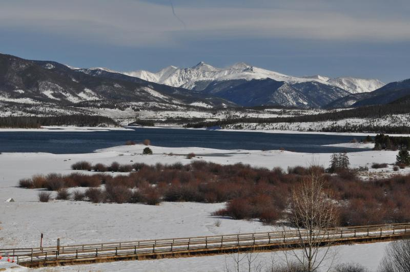 Lake Dillon from your balcony