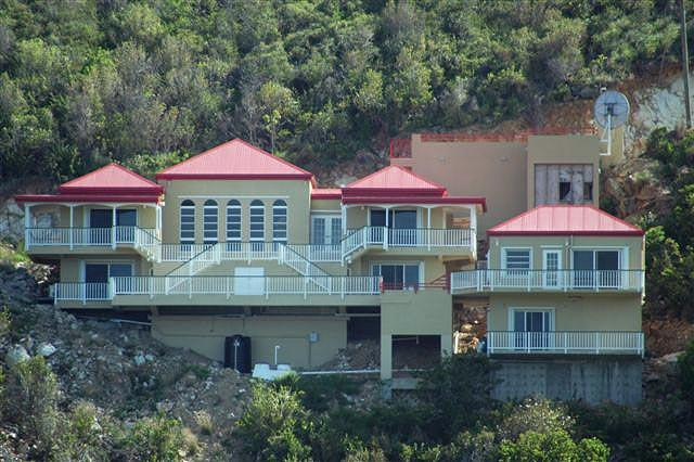Casa de Suenos (House of Dreams) is located is a pristine private hillside overlooking John's Folly.