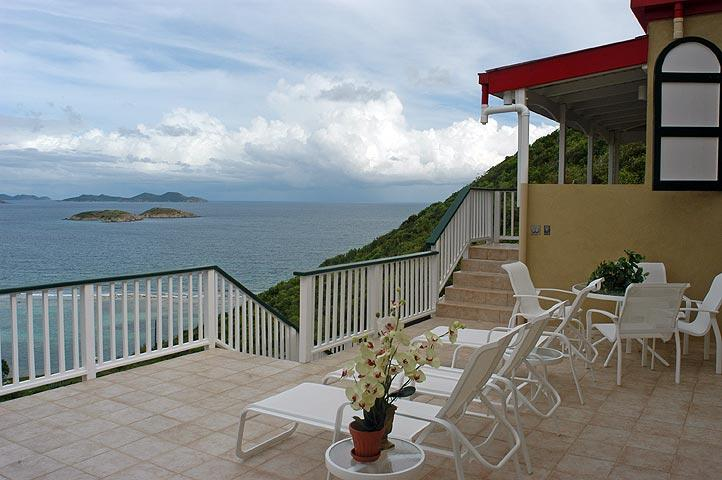 Relax on the deck after a day at the beach and soak in the sensual idyllic surroundings.
