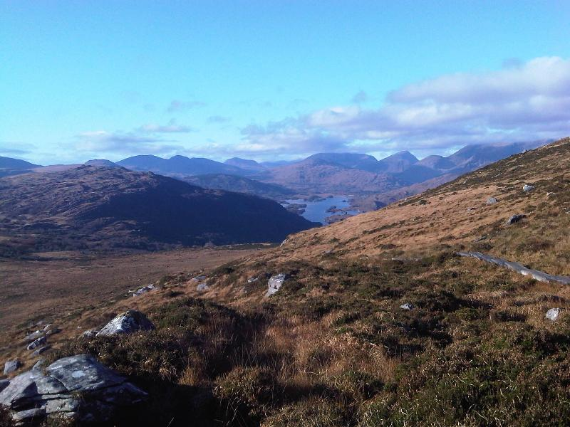 Half way up Torc Mountain (10 Minute Drive Away)