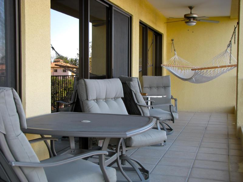 Balcon meublé avec terrasse pour 4