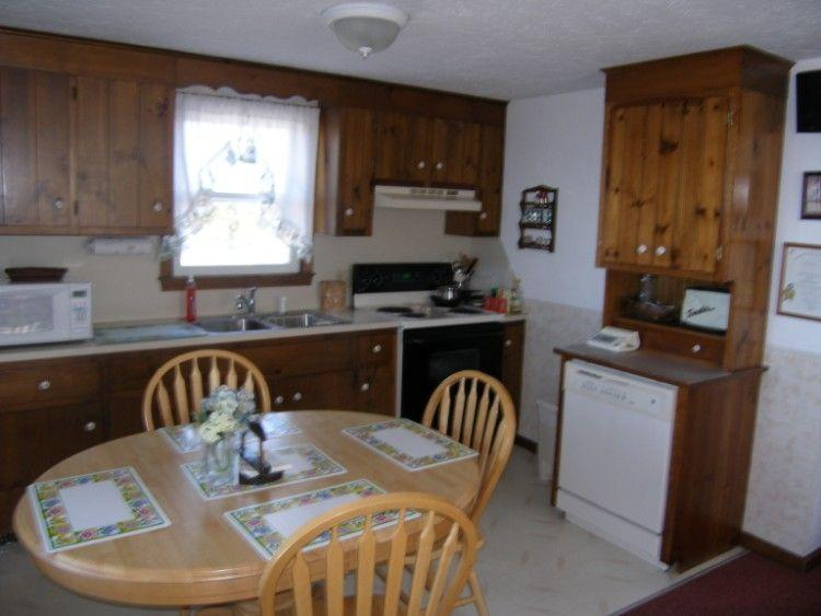 Kitchen dining combination with dishwasher
