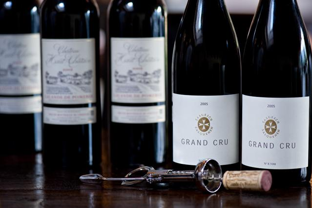 Fine selection of fine wines