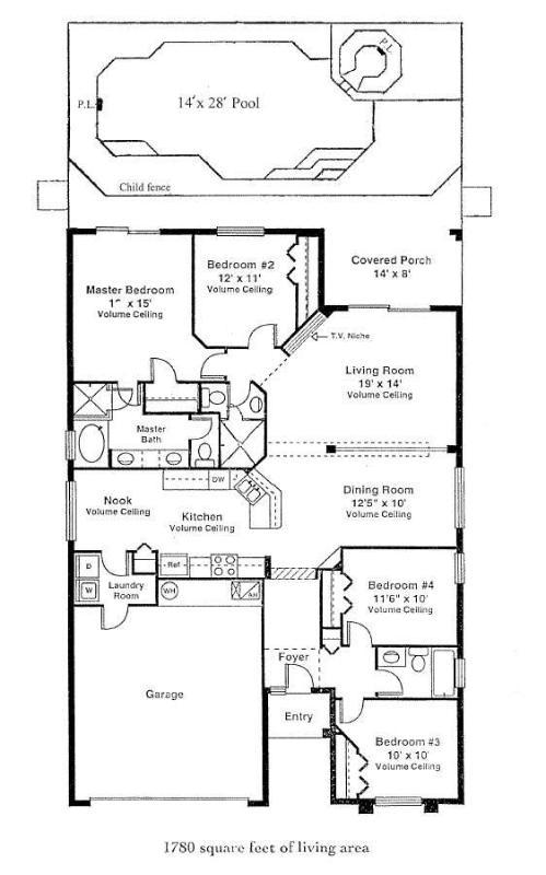 The Home's Floor Plan