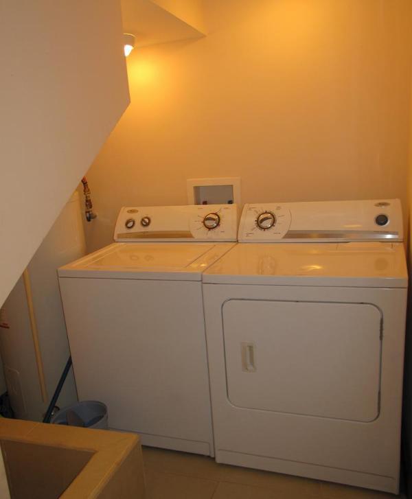 Oh es bueno tener una lavadora y secadora!