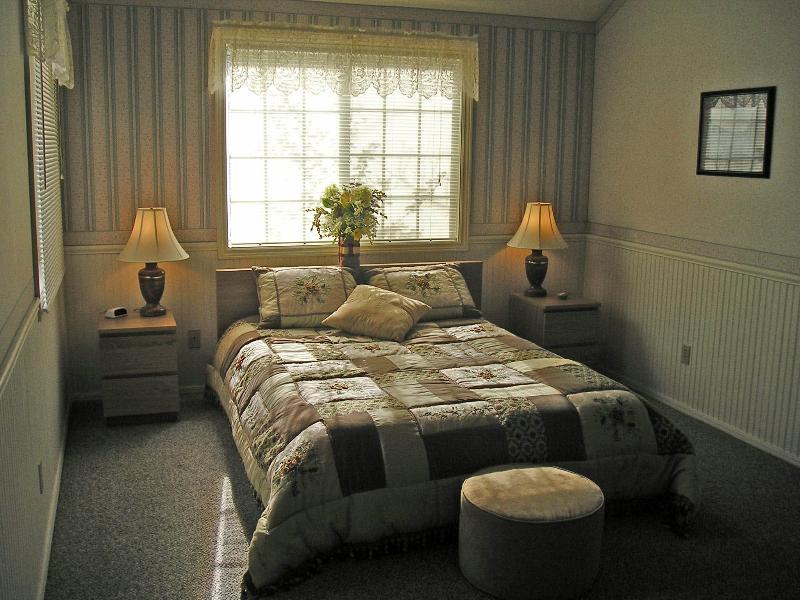 Amplio dormitorio con cama Tempurpedic
