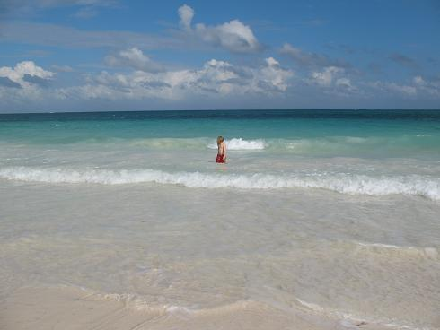 Turquoise Waters- silk white sand