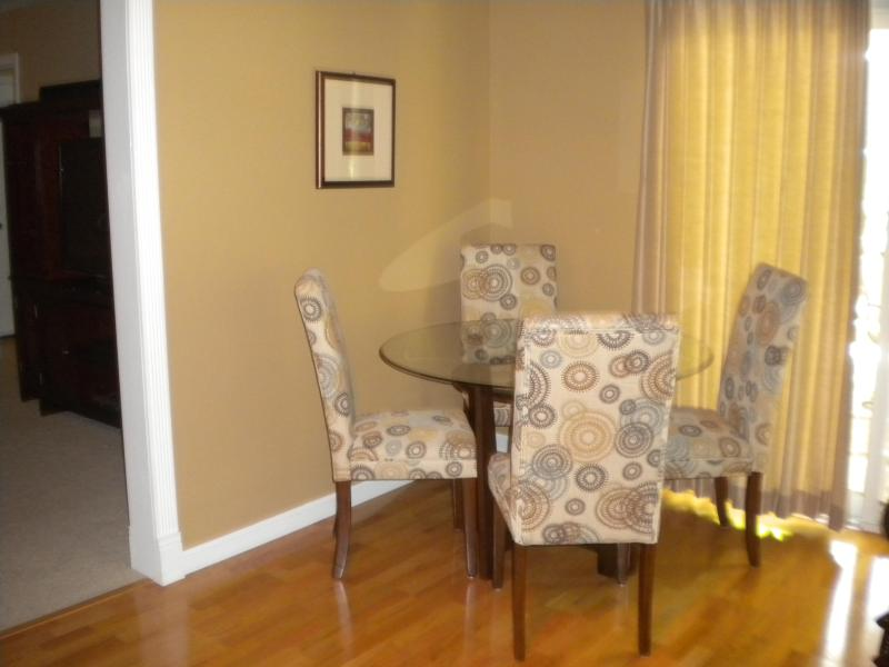 Second Family Room - Informal Seating Area For Meals, Cards or Games.