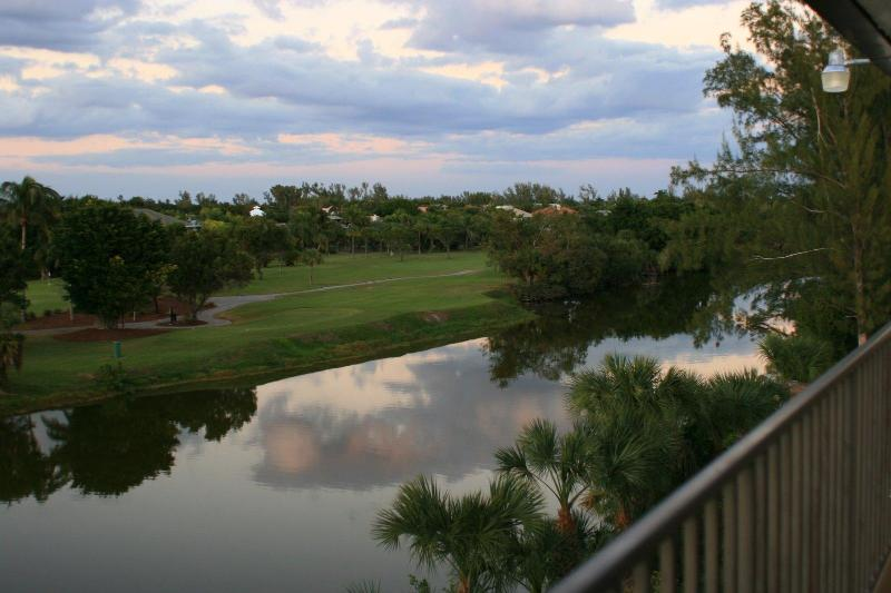 Sanibel River and Golf Course from condo