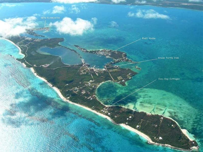 Foto aérea de casas Cocobay