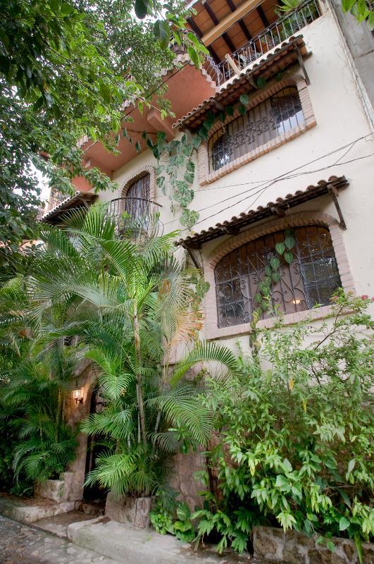 Street level front door