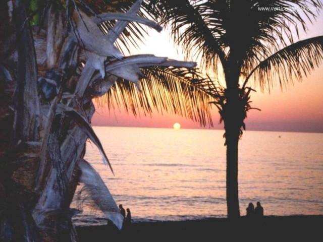 Venice Florida Romantic Sunset