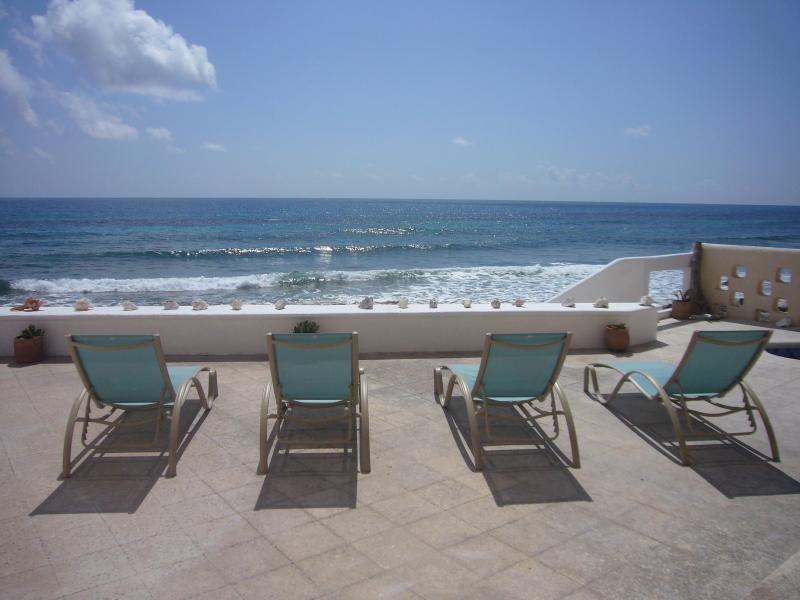 Overlooking Caribbean Sea