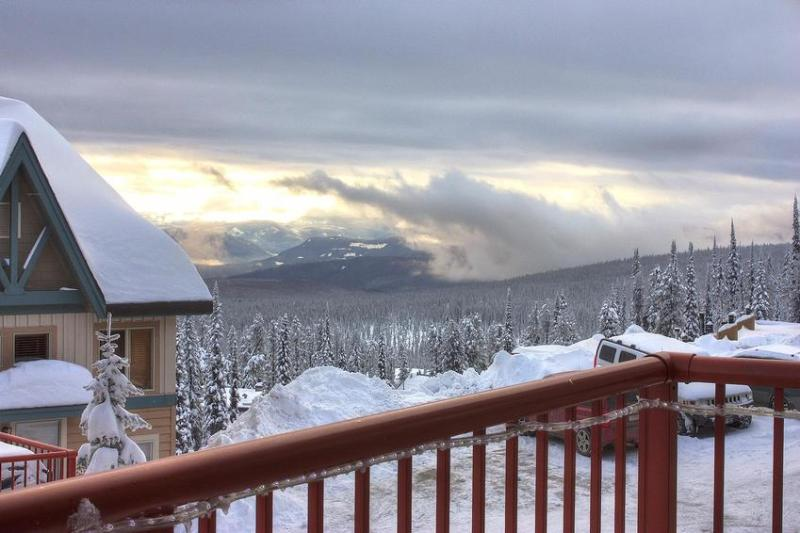 Another view from deck / hot tub