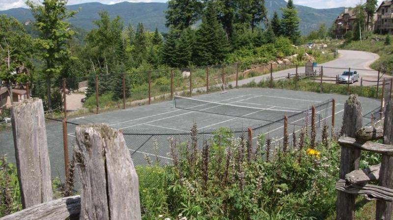 Tennis in de bergen