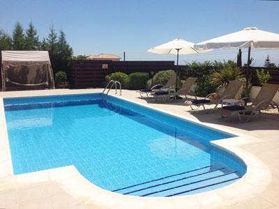 A bela piscina