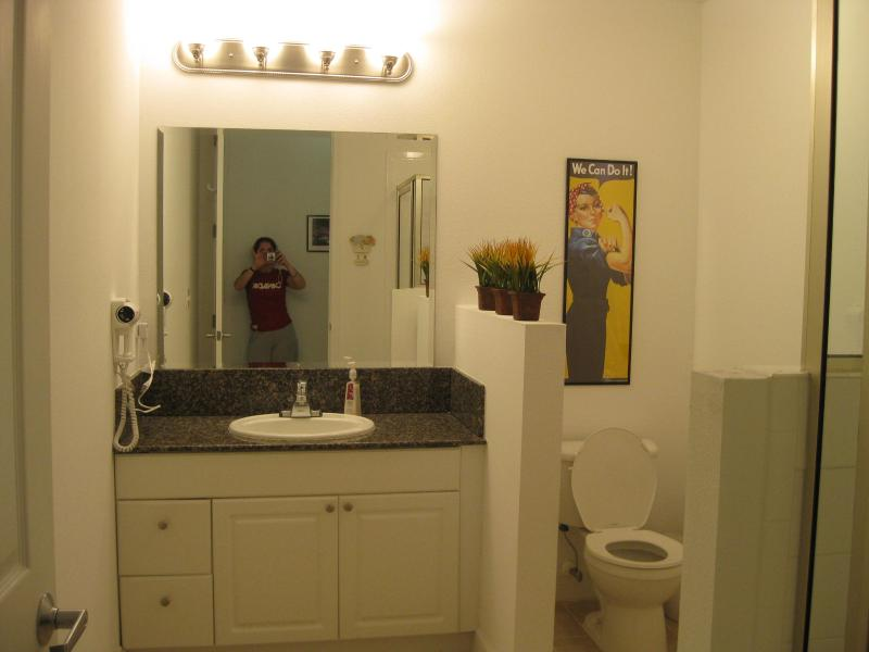 Shared bathroom