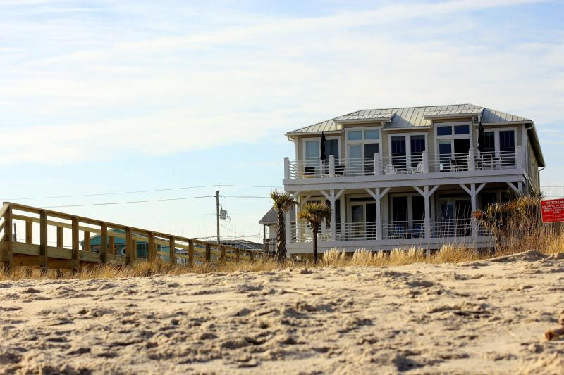 Exterior from the beach