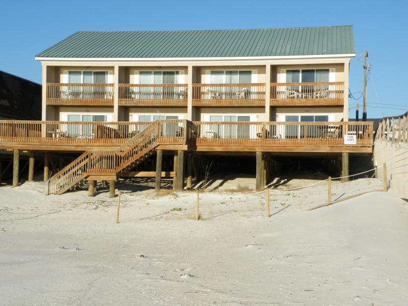 beachfront townhouse in panama city beach fl has parking and porch rh tripadvisor com
