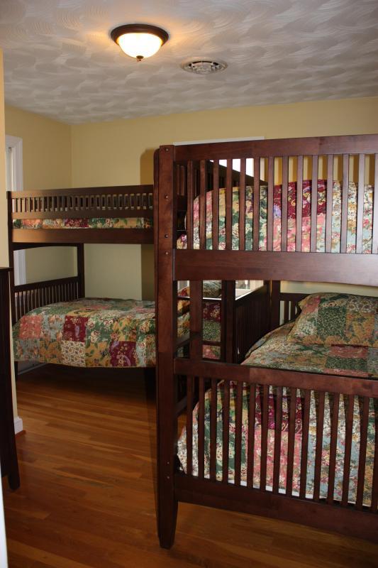 bedroom #3 with dual bunk beds