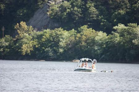 boating on the Potomac River at Harpers Ferry