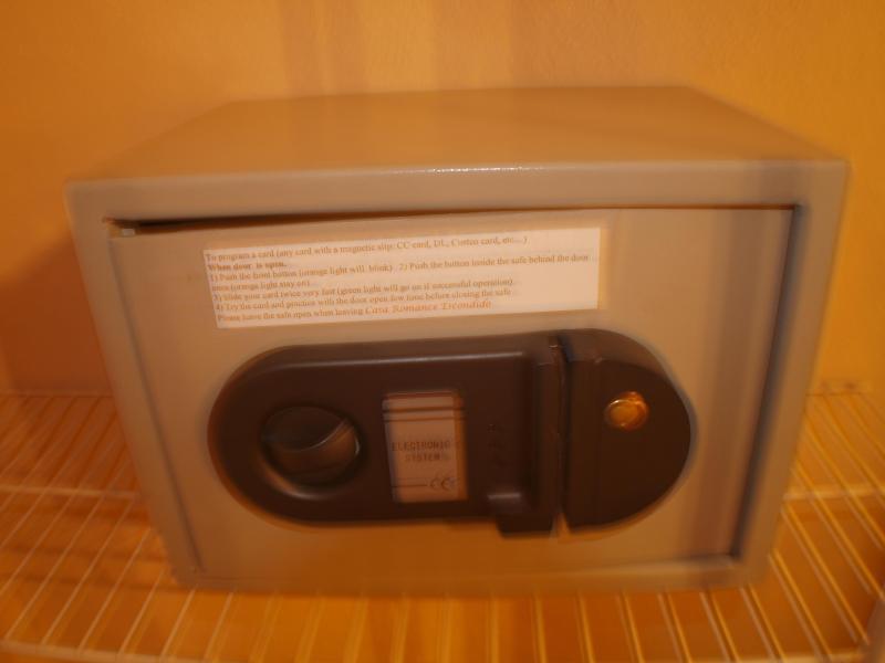 Safe box in evry room