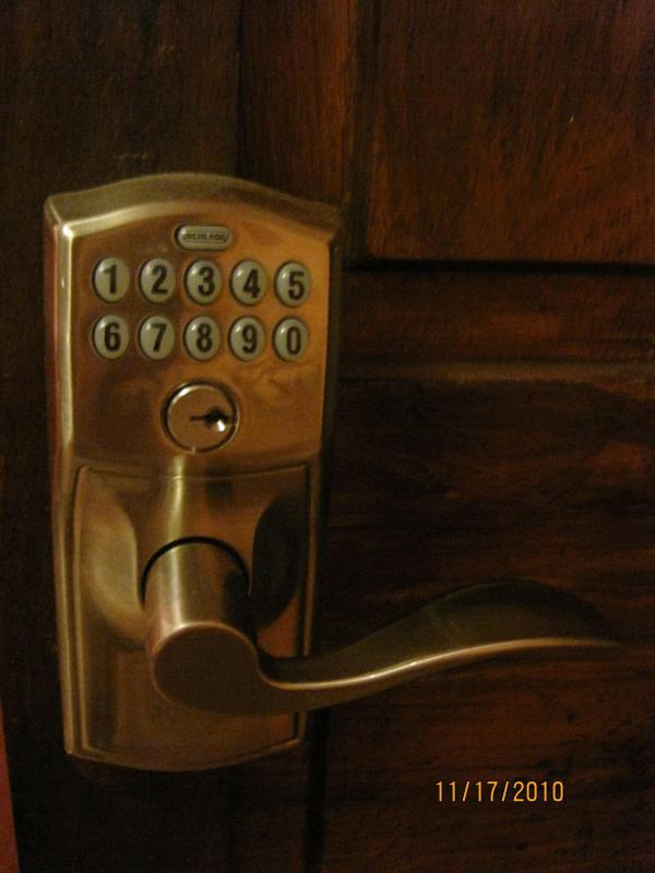digital entry lock system