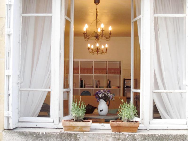 My Little French House - Facade - Downstairs Living Room