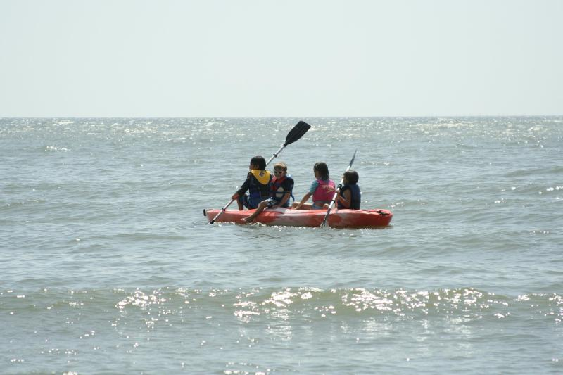 2 Double Kayaks Provided