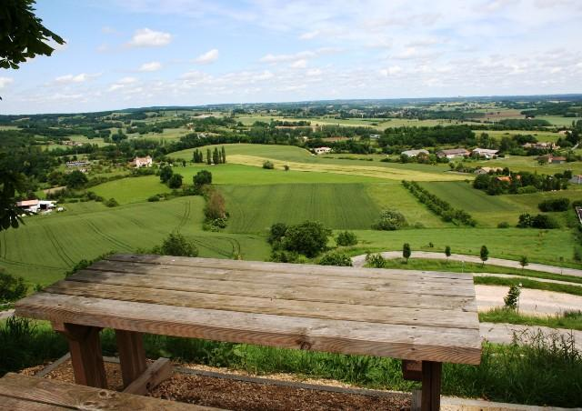 View from Village Picnic Table