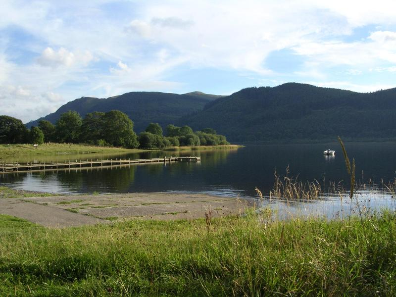 Bassenthwaite Lake - 1.75 miles away - a flat easy walk or drive