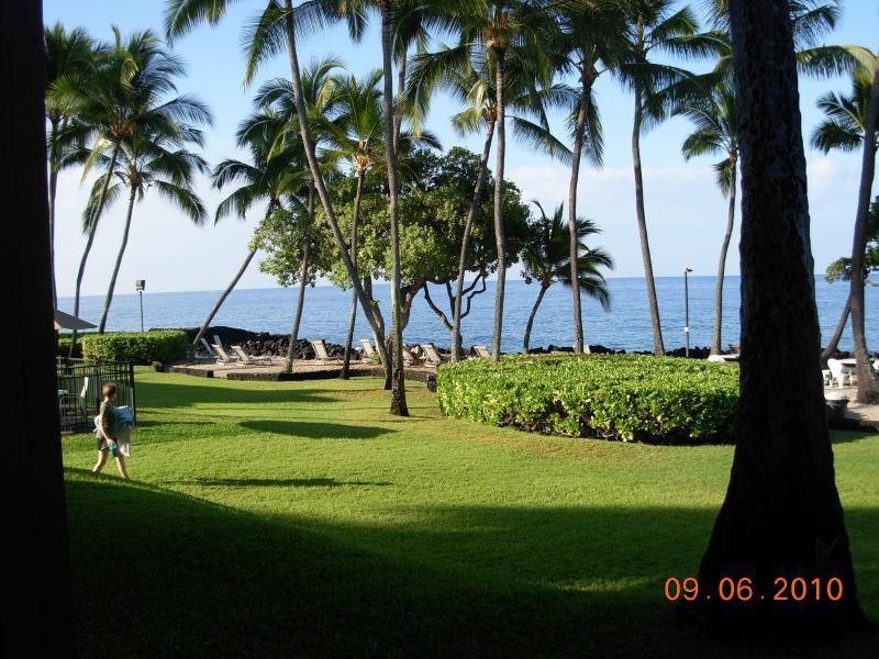 Vista de Lanai(patio)