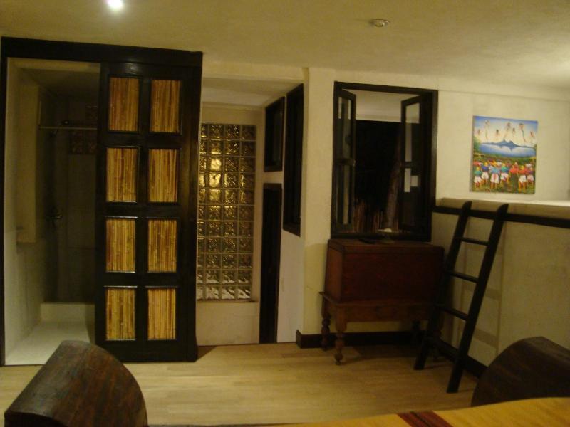 Bedroom #3 with double-sized sleeping loft