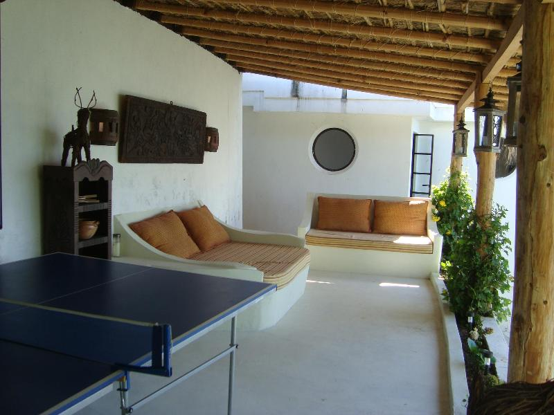 Outdoor living room/ Games Room