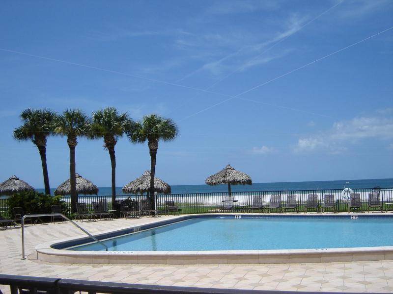 Oceanside heated pool