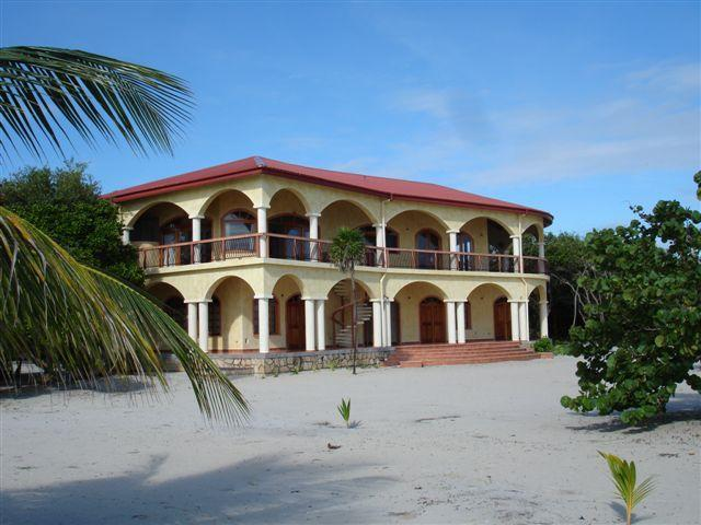 Villa Ranguana from the beach