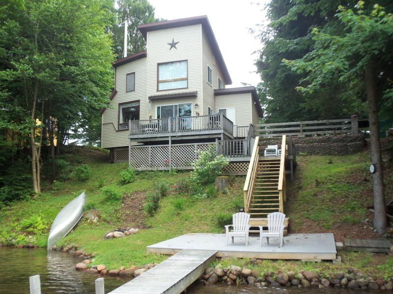 Star Lake Ny >> Modern Waterfront Cottage Camp Watkins Has Washer And Dvd Player