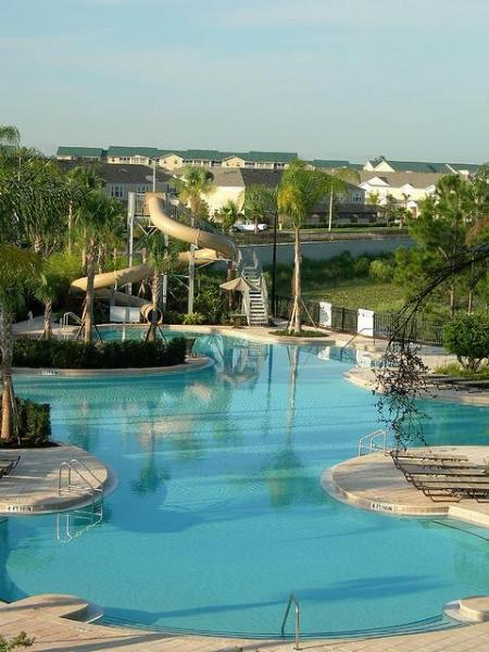 Resort  Lagoon Pool and Water Slide