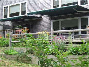 Back Deck with New Awnings