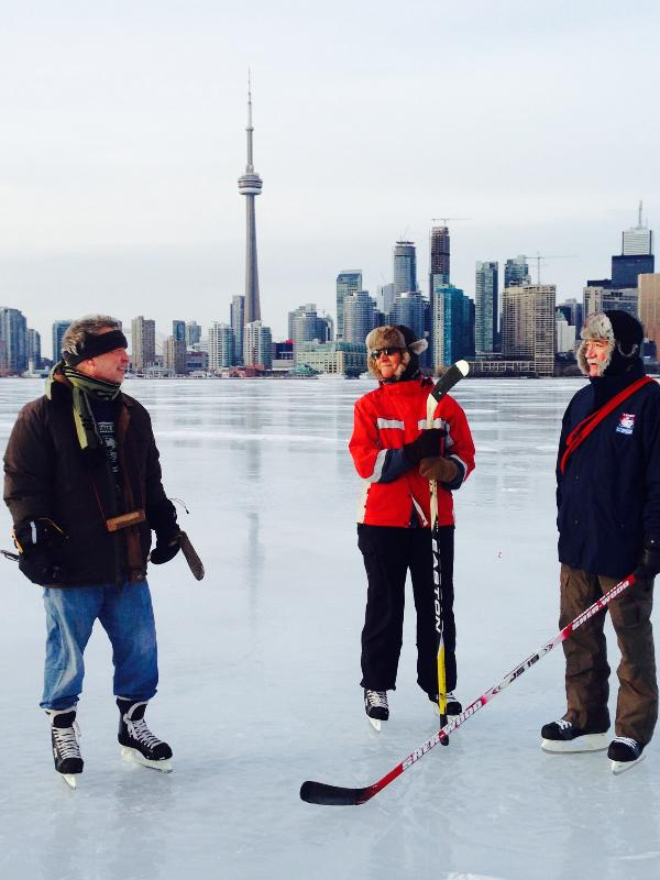 Harbour skating, winter 2014.