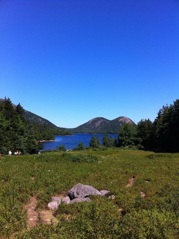 Jordan Pond and the bubbles - 5 min from the house