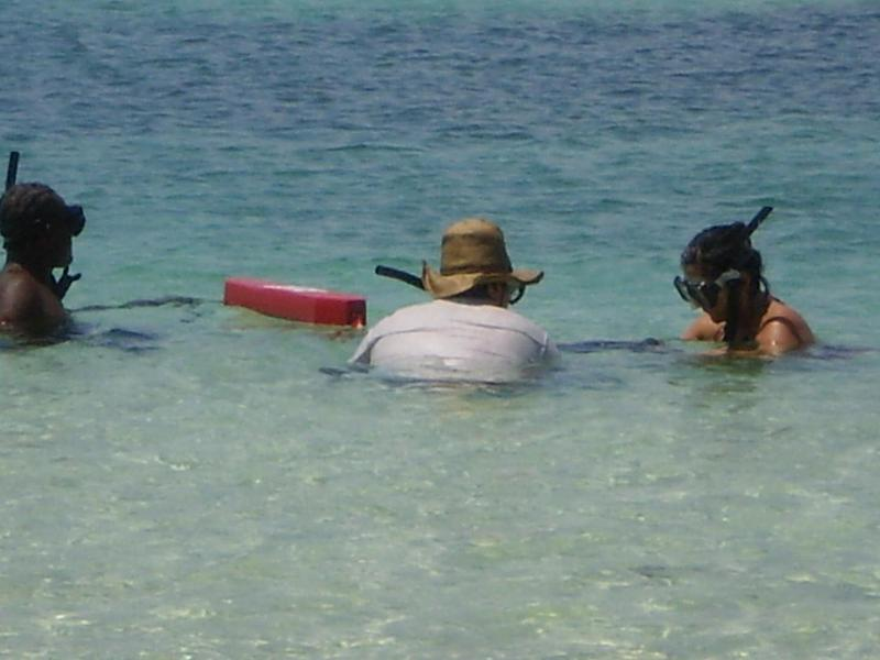 Snorkeling on the Largest living barrier reef