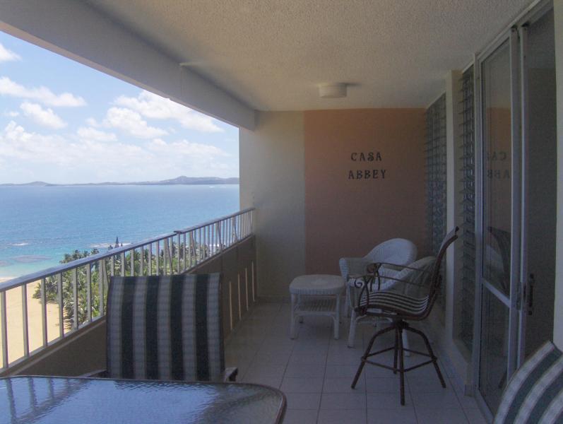 Balcony - looking east