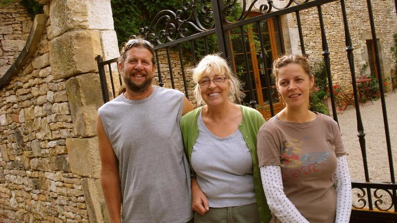 Hosts - Sue, George and Lucy