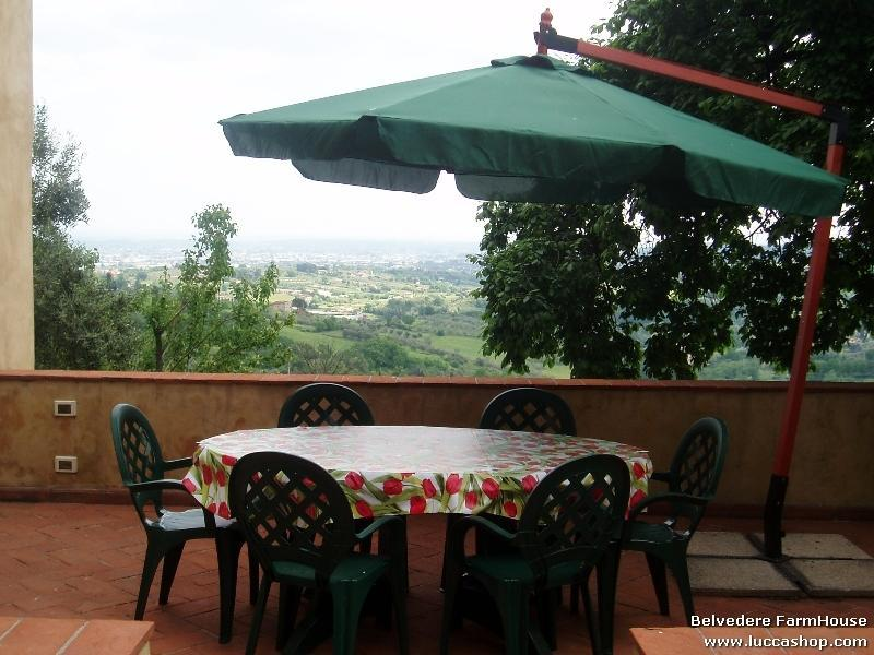 Fiordaliso House - Terrace with view of Fiordaliso
