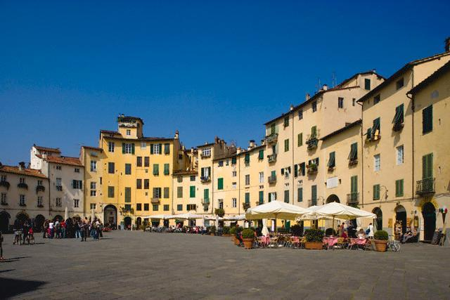 The amphitheater in Lucca