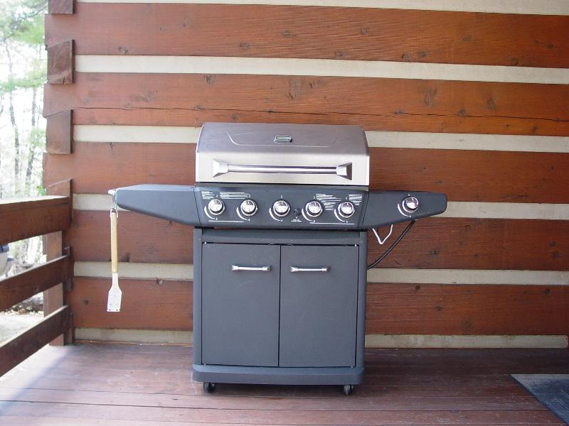 Large Gas Grill at Serenity Ridge Cabin