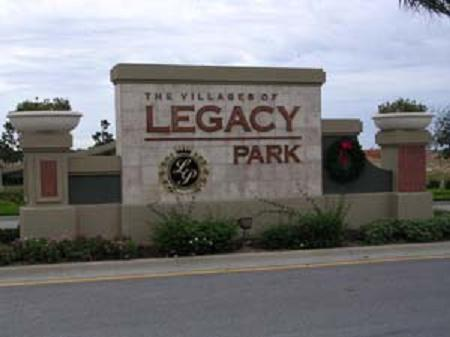 Legacy Park Entrance